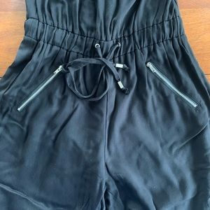 Bar III Pants - Bar III black strapless jumpsuit only worn once!
